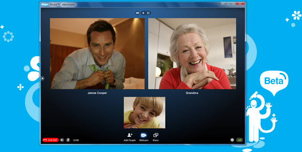 Skype beta for Windows