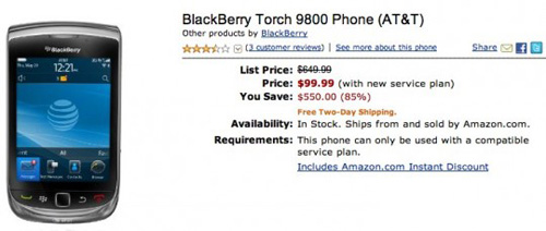 Amazon-BlackBerry-Torch-9800-540x229