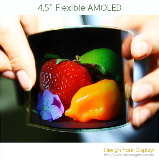 Samsung Flexible AMOLED
