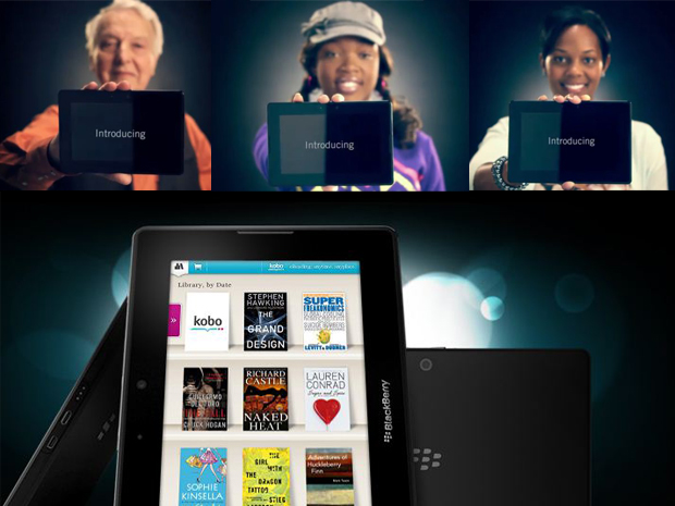 BlackBerry PlayBook Ads