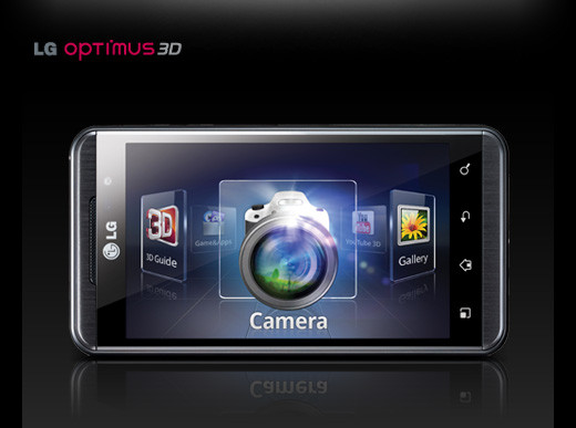 LG Optimus 3D camera