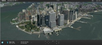 Nokia 3D Map New York