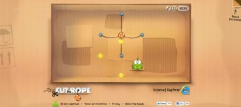 HTML5 IE Cut the Rope