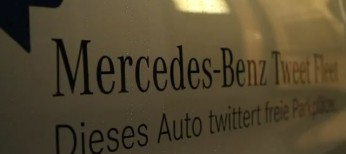 Mercedes-Benz tweet fleet
