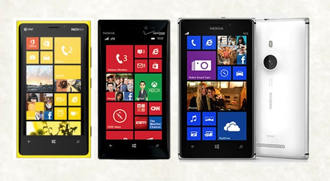 Nokia Lumia 920 vs 925 vs 928