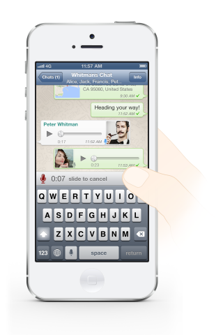 iPhone-WhatsApp-Push-to-Talk